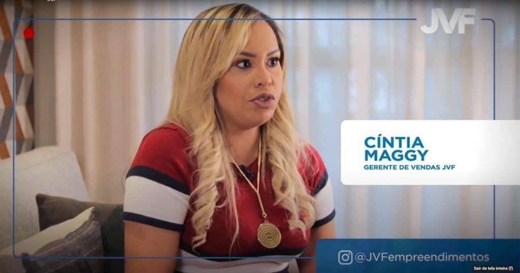 Cíntia Maggy, corretora JVF, fala sobre o Cabula