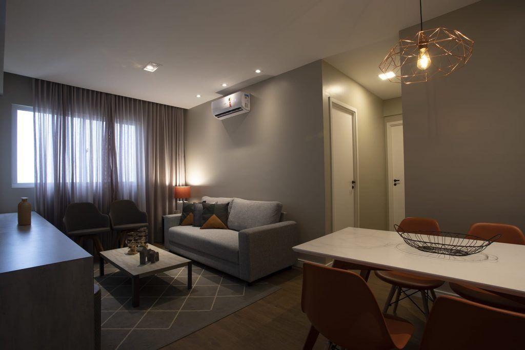 Sala Apartamento Decorado Vivace Cabula VI