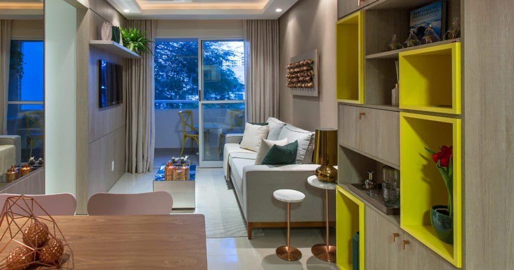 Apartamento decorado do Adorato Cabula