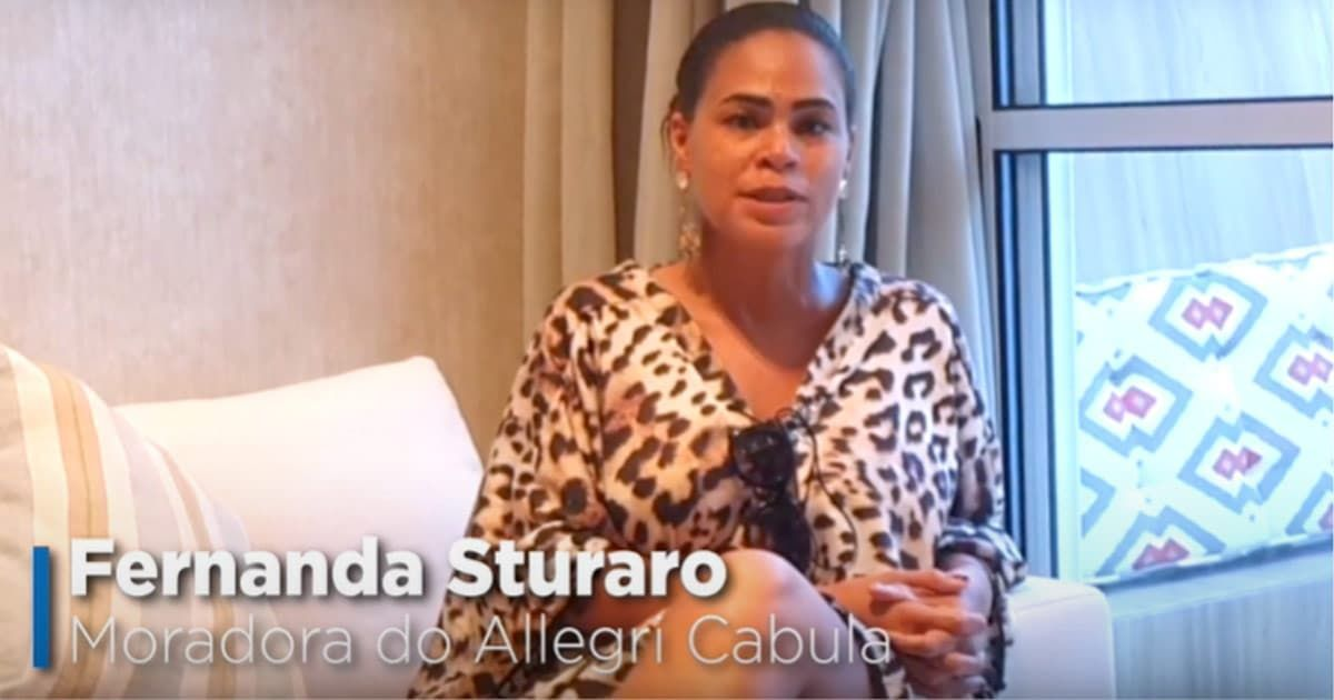 Fernanda Stuaro, moradora do Allegri Cabula