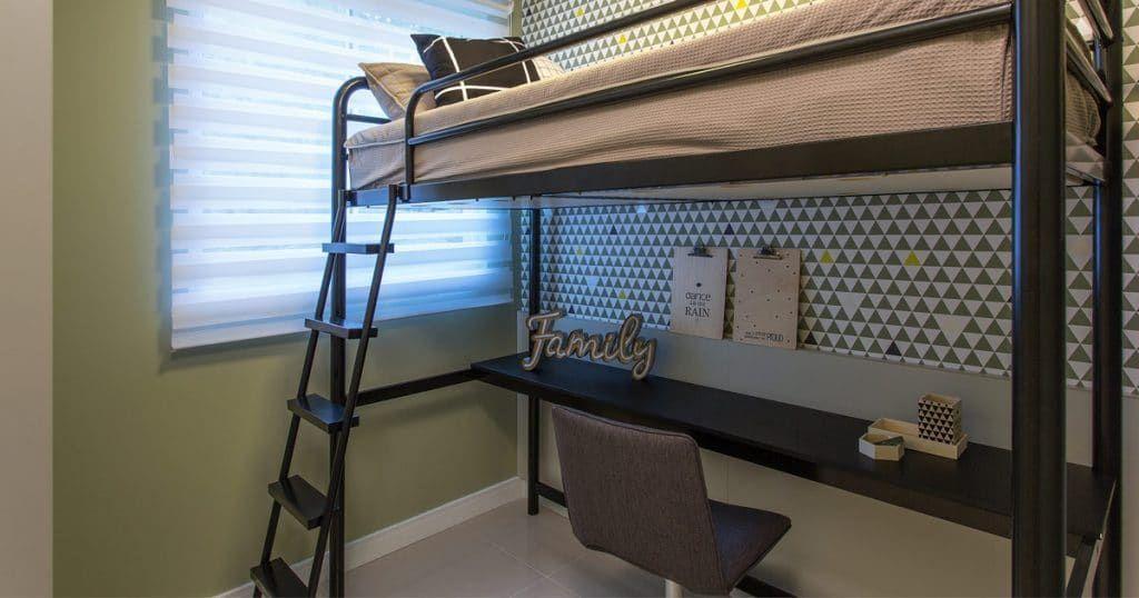 Espaço adaptado para Home Office no Allegri Cabula