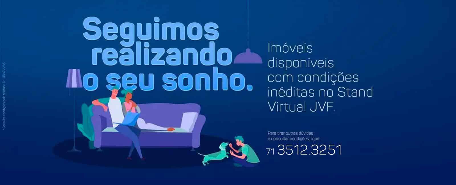 Condições Inéditas no Stand Virtual JVF